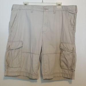 Sonoma Cargo Shorts Men's Size 38 Khaki